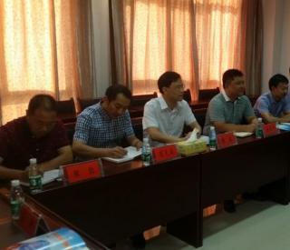 政府办副主任唐朝晖率队考察汉寿土地经营权抵押贷款工作